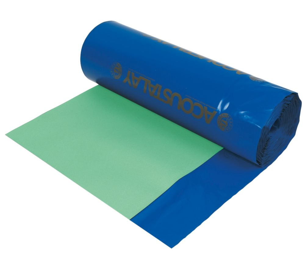Acoustalay Foam Underlay with DPM 3mm 18m² Green / Blue