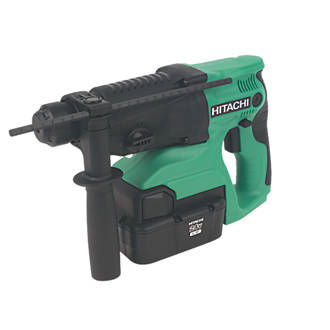 Hitachi DH24DVCJK 4kg 2.0Ah NiMH Cordless SDS Plus Hammer Drill 24V