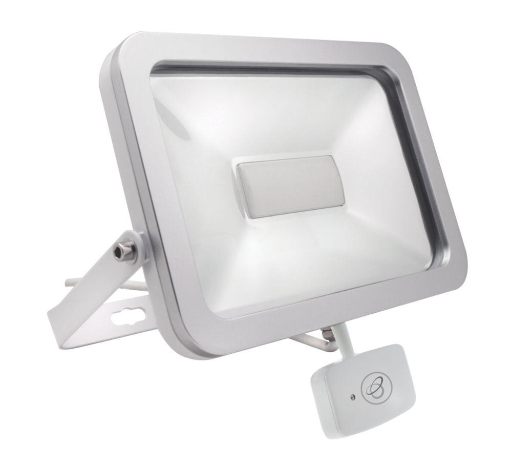Brackenheath ispot Driverless LED Microwave Sensor Floodlight 50W White