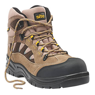 Site Granite Safety Trainer Boots Stone Size 9.