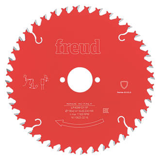 Freud TCT Circular Saw Blade 180 x 30mm 40T
