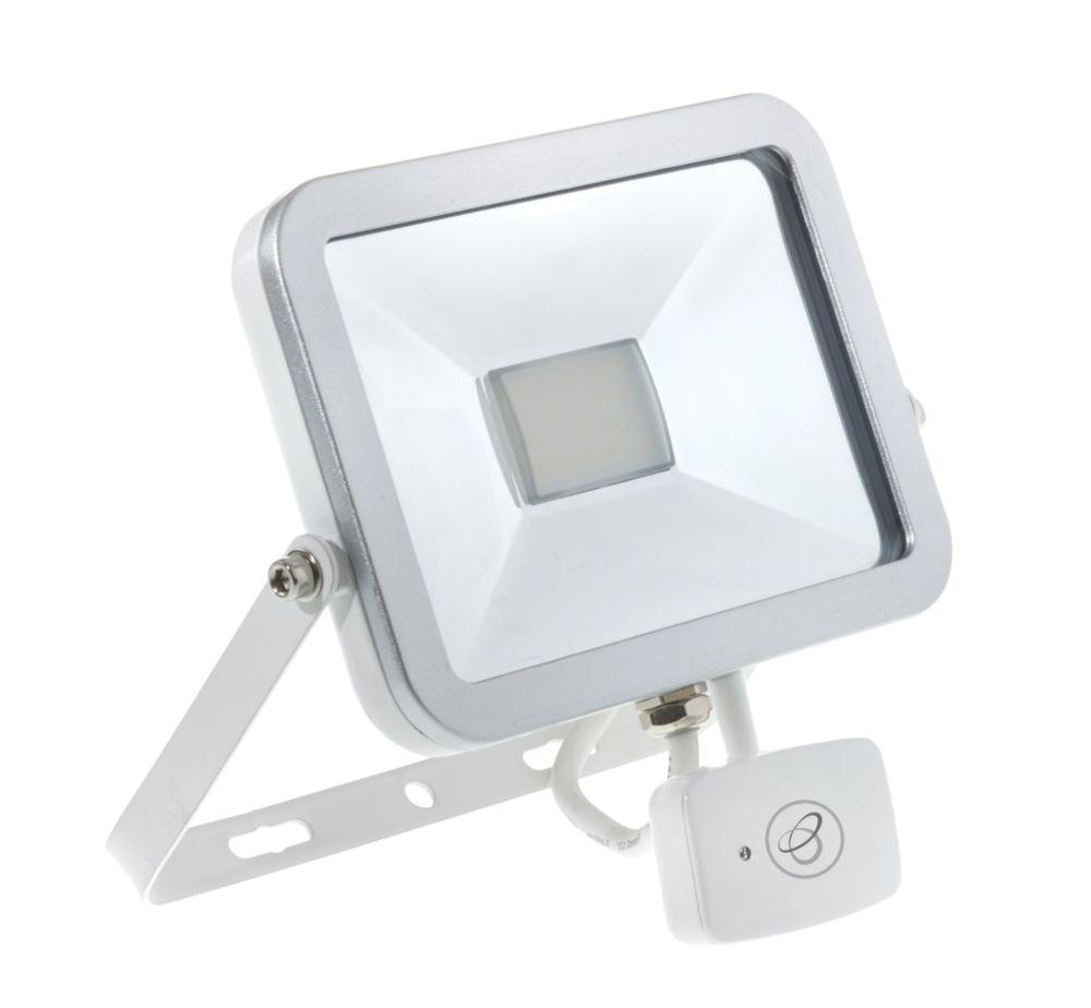 Brackenheath ispot Driverless LED Microwave Sensor Floodlight 20W White