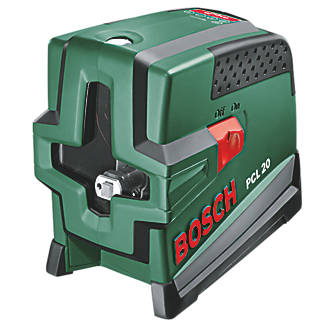 Bosch PCL20 SelfLevelling Cross Line Laser Level Kit