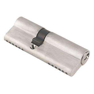 ERA 6-Pin Euro Cylinder Lock 35-50 (85mm) Satin Nickel