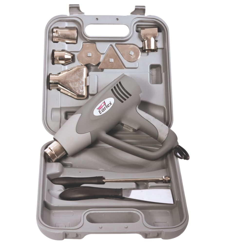 Image of Earlex HG2000 2000W Heat Gun & Accessories 220-240V