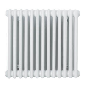 Acova Classic 2Column Horizontal Radiator White 600 x 628mm 2009BTU