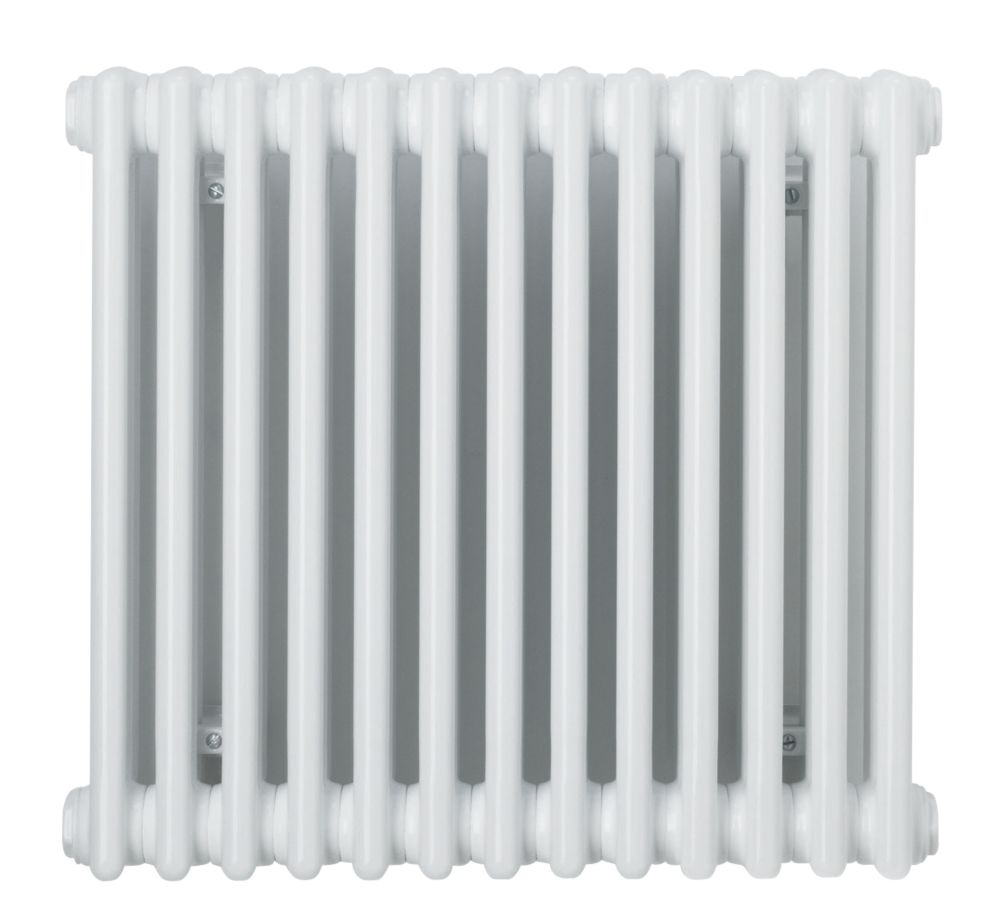 Acova Classic 2-Column Horizontal Radiator White 600 x 628mm 2009BTU
