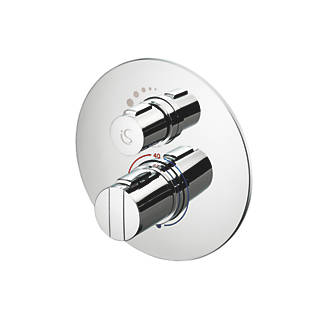 Ideal Standard Concept Easybox Slim BuiltIn Thermostatic Mixer Shower Valve Fixed Chrome