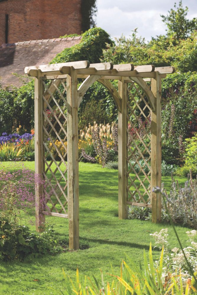 Garden Arches Garden Arch Garden Archway Outdoor Projects