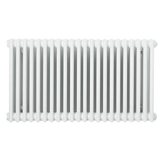 Acova Classic 2Column Horizontal Radiator White 600 x 1226mm 4019BTU