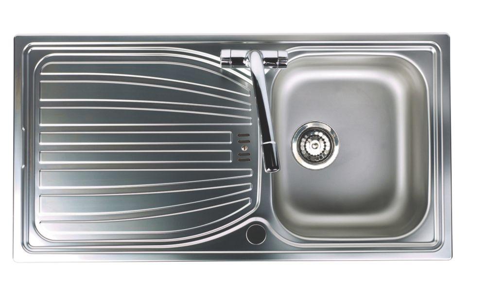 Astracast Alto Kitchen Sink S/Steel 1-Bowl 980 x 510mm
