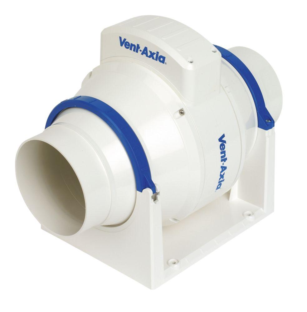 Bathroom Extractor Fan vent-axia acm100t 21w in-line bathroom extractor fan | bathroom