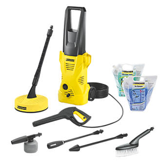 Karcher K2 Home & Car 110bar Pressure Washer 1.4kW 240V