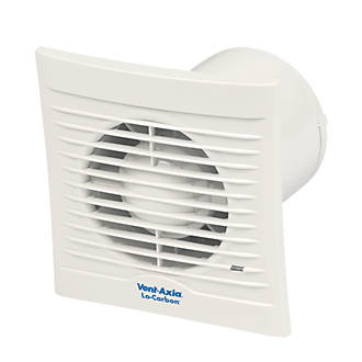 Vent Axia 100T 6W LoCarbon Silhouette Axial Bathroom Extractor Fan w Timer    Bathroom Extractor Fans   Screwfix com. Vent Axia 100T 6W LoCarbon Silhouette Axial Bathroom Extractor Fan