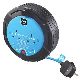 Masterplug Cassette Reel 2G 240V 4m.