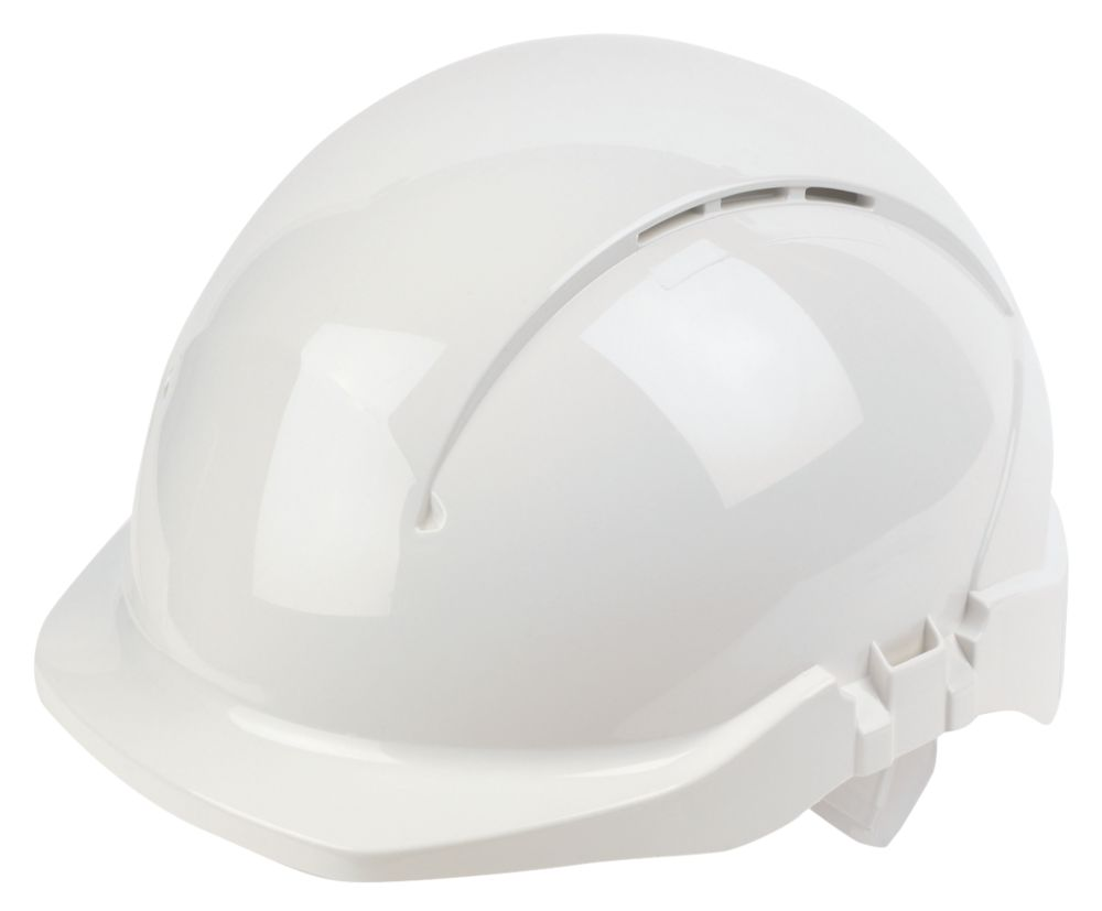 Centurion Concept Reduced Peak Vented Safety Helmet White