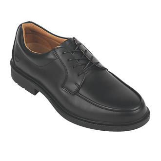 City Knights Derby Tie Executive Safety Shoes Black Size 10.