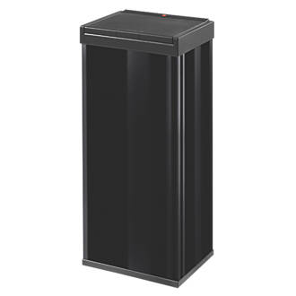 Hailo Big Box Touch Household Waste Bin Black 60Ltr