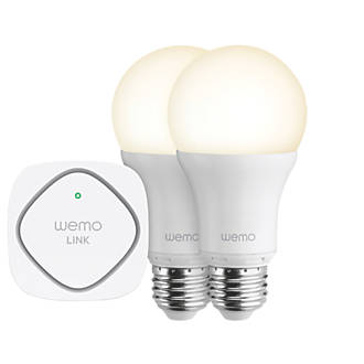 WeMo Wi-Fi LED Lighting Starter Set 9.5W ES