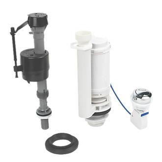 Fluidmaster Bottom Entry Button Cable Dual Flush   Bottom Inlet  Toilet Spares   Bathrooms   Screwfix com. Parts For Toilet Cisterns. Home Design Ideas