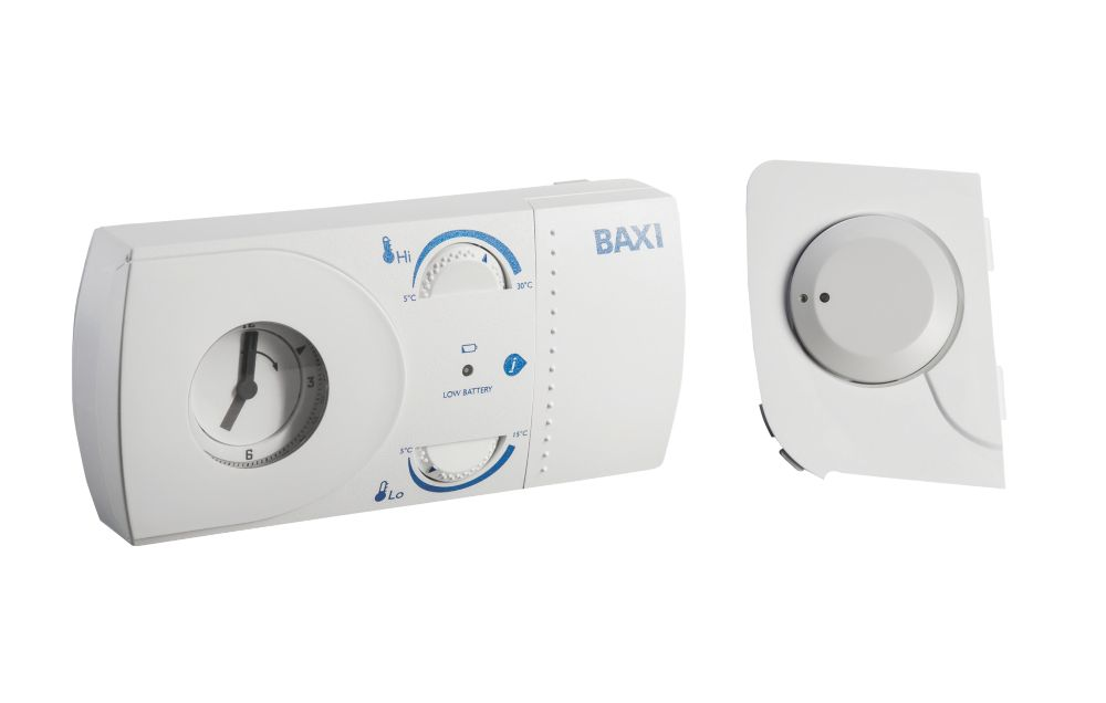 Baxi EcoBlue Wireless Mechanical RF Thermostat