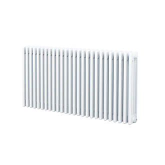 Acova Classic 4Column Horizontal Radiator White 300 x 1042mm 3145BTU