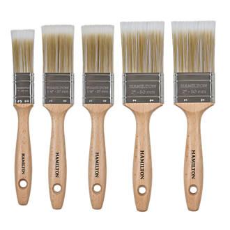 Hamilton Prestige Synthetic Trade Paintbrush 5 Pcs