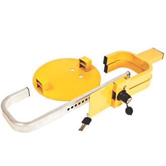 Maypole Universal Trailer Wheel Clamp 1317 Yellow
