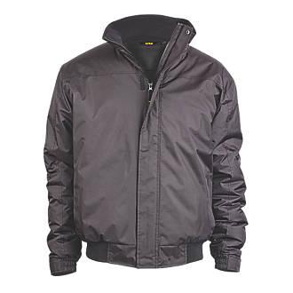 Site Burr Pilot Jacket Black Medium 3840 Chest