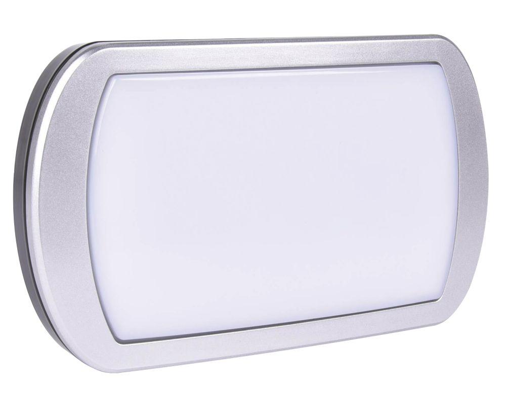 Brackenheath Ispot LED Driverless Bulkhead Black 10W