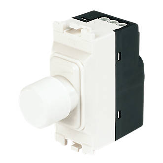 MK Gang Dimmer Switch Low Voltage W White Grid Wiring - Wiring a grid switch