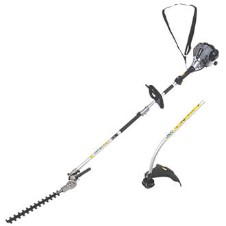 Titan TTL488GDO 1.07hp 25cc Bent Shaft Petrol 2in1 Grass & Hedge Trimmer