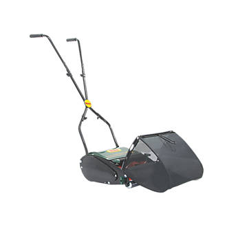 Webb WEH12R 30cm Push Cylinder Hand Push Roller Lawn Mower