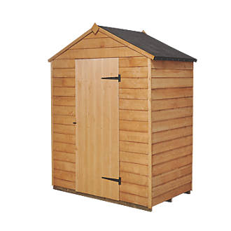 Forest X Nominal Overlap Timber Shed Wooden Sheds