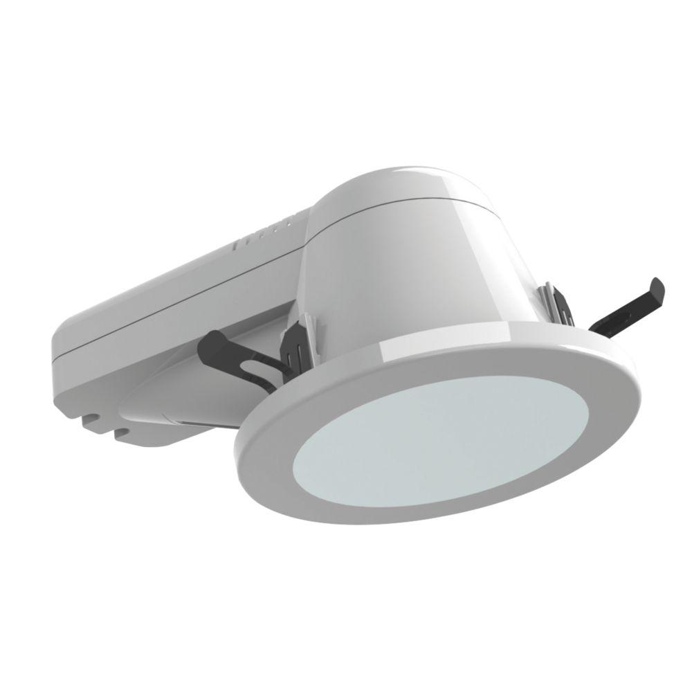 ASD Atom Round PL Bathroom Downlight Seal & Cover Kit Fixed CFL White 146mm 240V