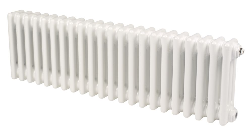 Acova Classic 3-Column Horizontal Radiator White 300 x 812mm 1857BTU