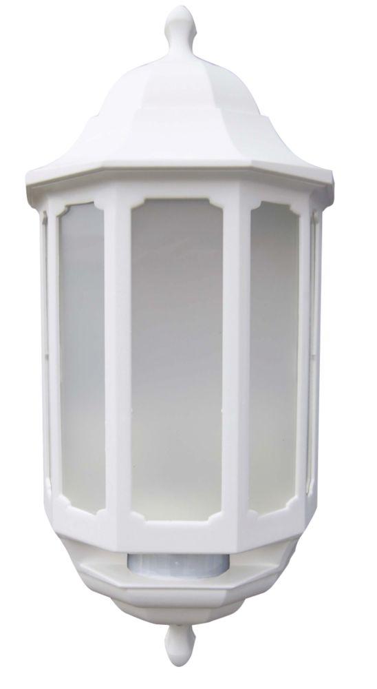 ASD Half Lantern LED with PIR White 283lm 8.5W