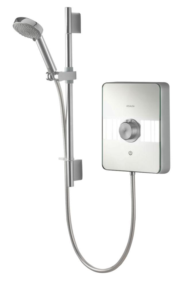 Aqualisa Lumi Electric Shower Chrome / Glass 9.5kW