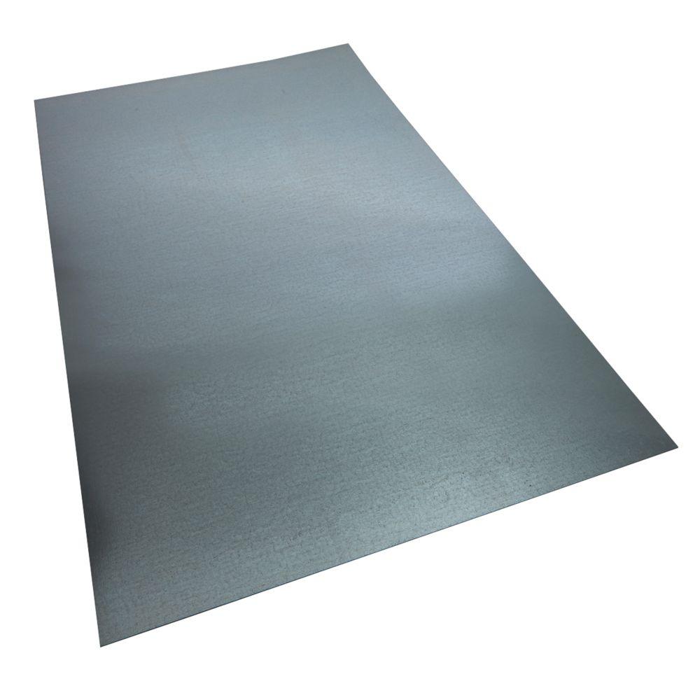 Alfer Metal Sheet Galvanised Steel 600 x 1000mm