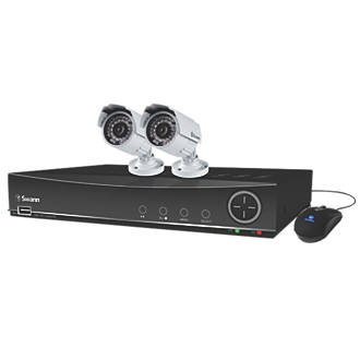 Swann SWDVK441002A 4Channel 960H CCTV Digital Video Recorder & 2 Cameras