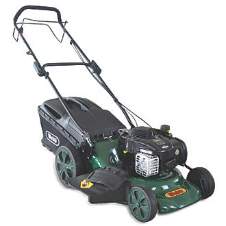 Webb WER18HW 46cm N/Ahp 140cc Self-Propelled Rotary 46cm High Wheel 4-in-1 Lawn Mower
