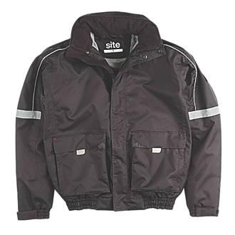 Site Elm Pilot Jacket Black Large 5253 Chest