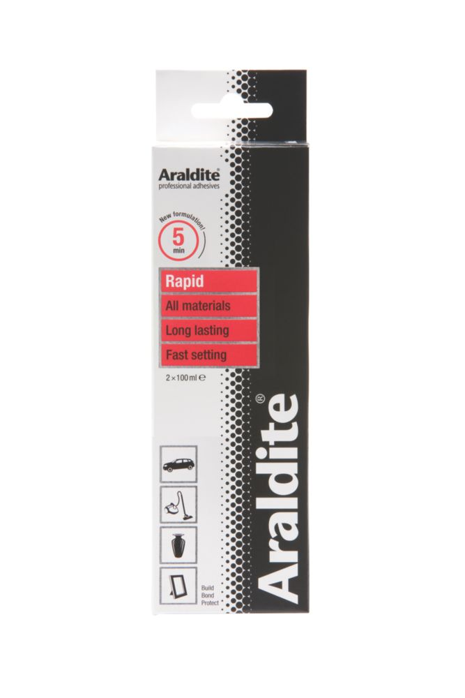 Araldite 2-Part Epoxy Adhesive Opaque 2 x 100ml