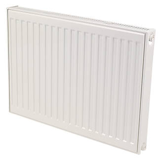 Kudox Premium Type 11 Single Panel Single Convector Compact Convector Radiator White 600 x 400mm.