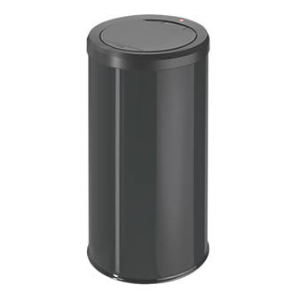 Hailo Big Bin Touch 45 Household Waste Bin Black 45Ltr