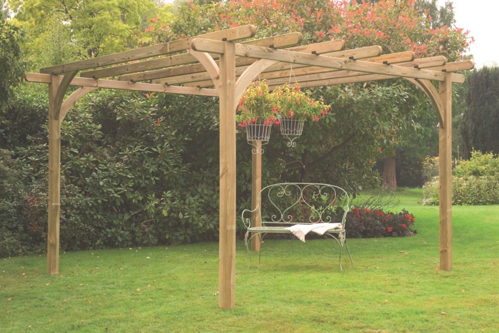 Pergola Garden Buildings Screwfixcom