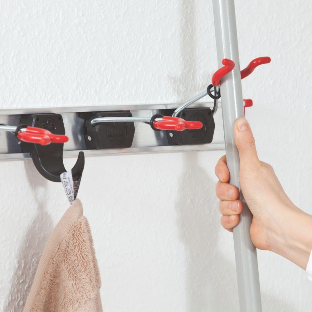 Bruns Flexible Tool Storage System Aluminium / Red / Black 150 x 74 x 786mm