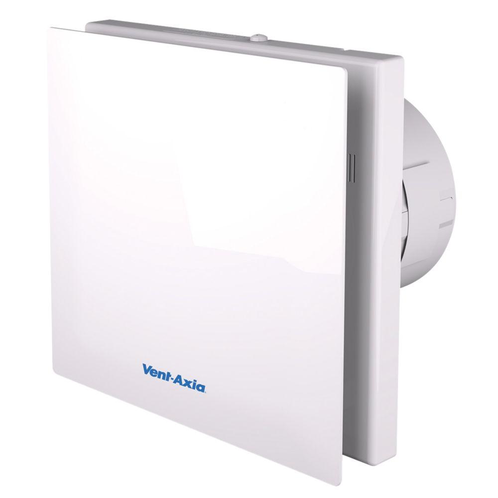Bathroom Extractor Fan vent-axia vasf100b 4.3w silent axial bathroom extractor fan