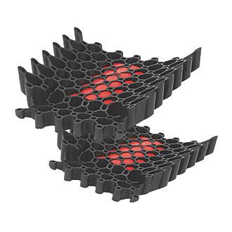 Redbacks KNPDRDLW20 SlideIn Protective Knee Pads