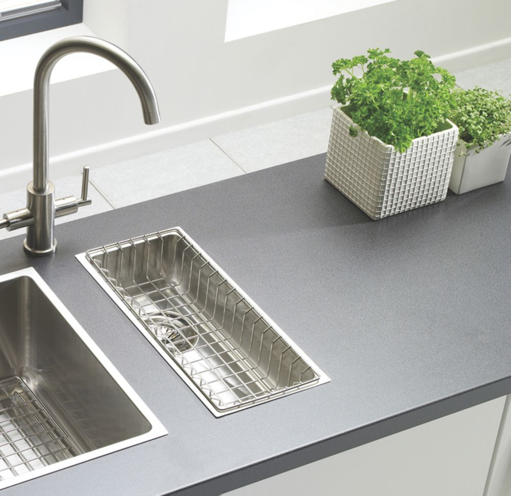 Astracast Inset/Undermount Sink Brushed Stainless Steel ½-Bowl 192 x 430mm